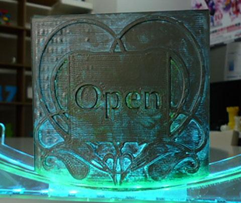 3DプリンターでLEDイルミネー