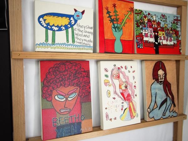 いろいろな技法の絵をアートプリントに キャンバス印刷