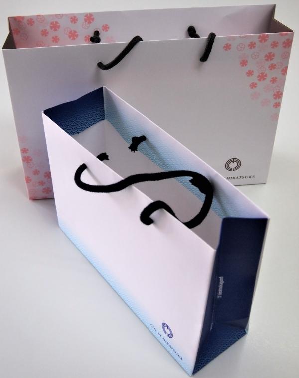 オリンピック・パラリンピック推進のオリジナル紙袋